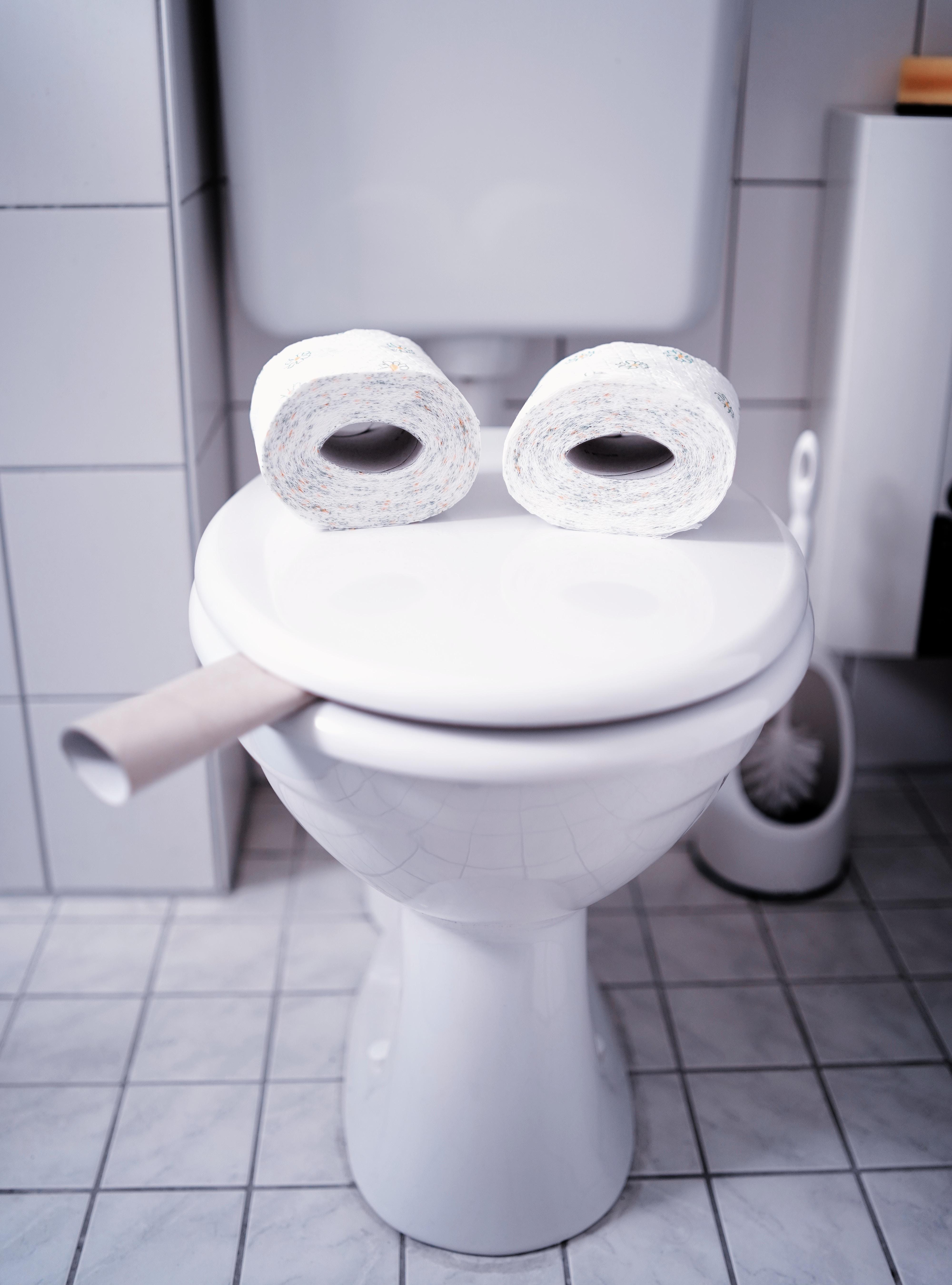 toalett - doløping på dysbioseprotkoll