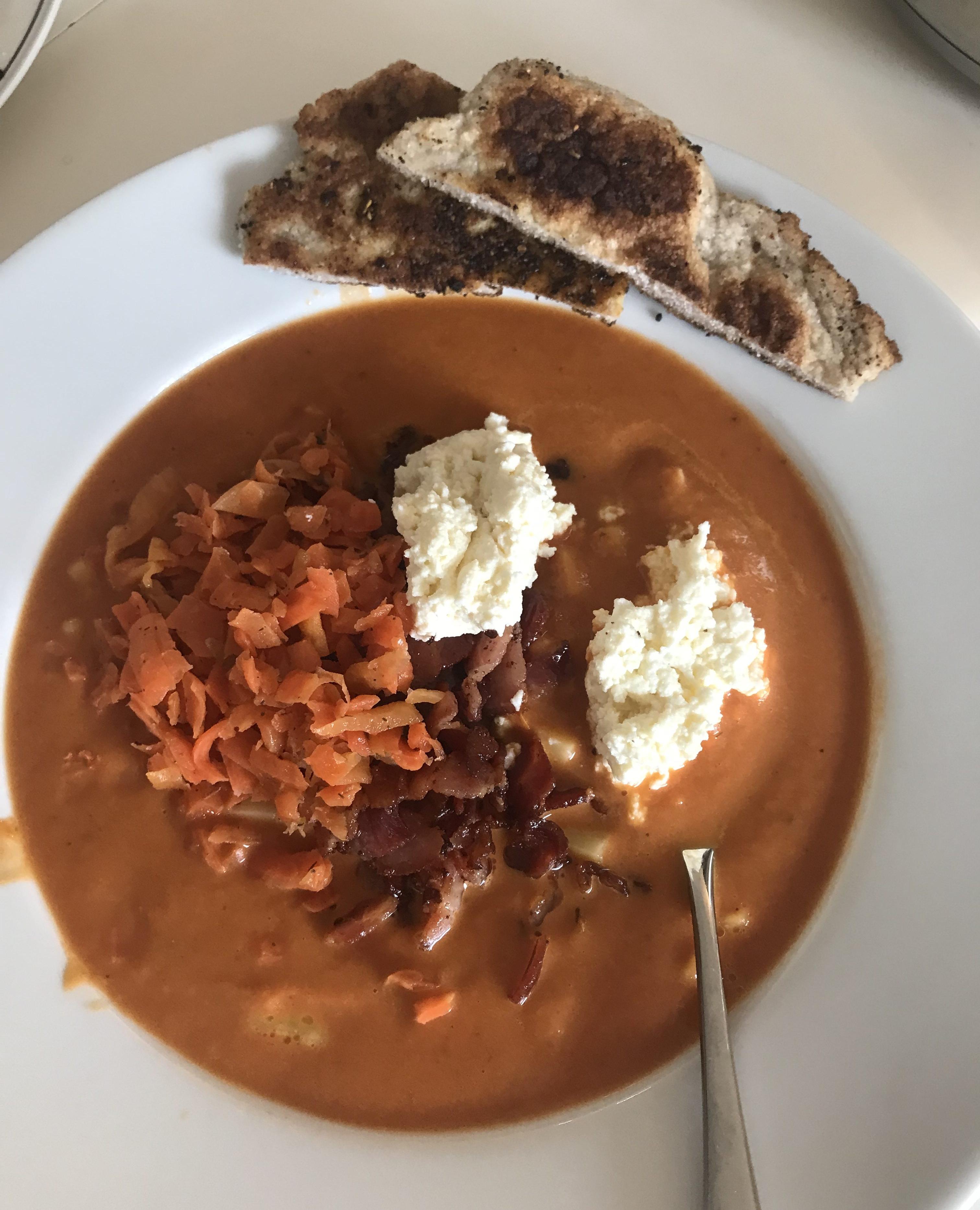 Silje E Vassøy, tomatsuppe med kraft